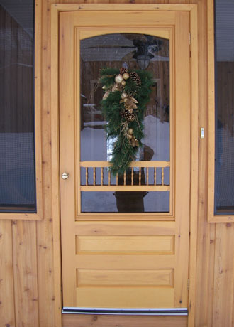 Custom Wooden Screen Doors Amp Entry Doors Peterborough